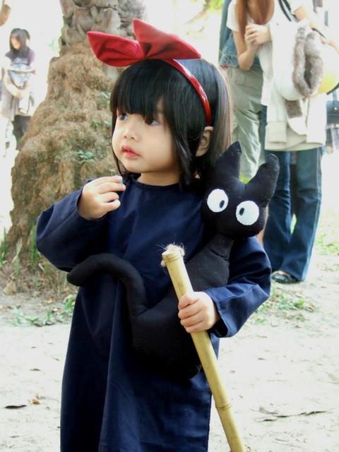 ハロウィンのコスプレでジブリ仮装した人や子供ツイッター画像